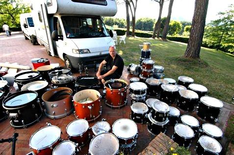 Umzug in das neue Drummershouse, im Juni 2010!