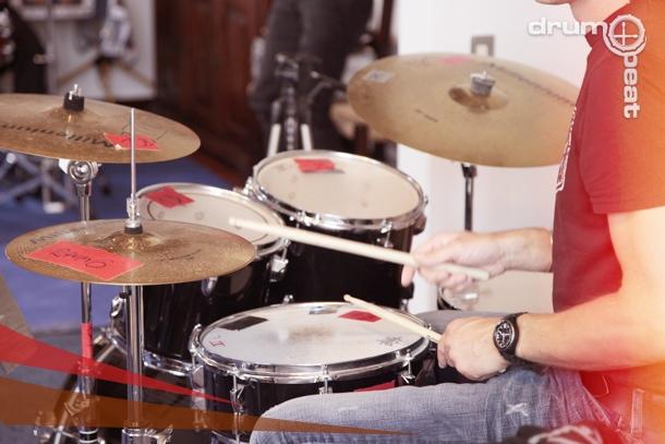 Drummer im Unterricht