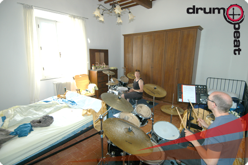 ZImmer mit 2 Drumsets