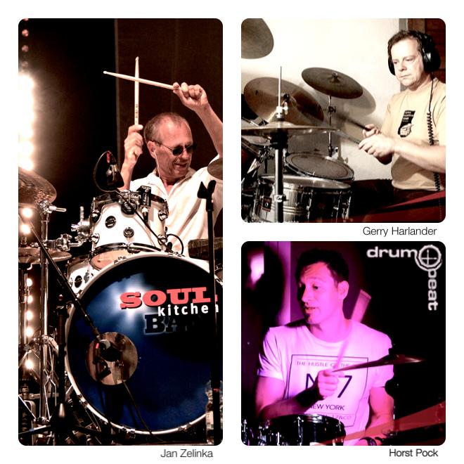 Dozenten der Schlagzeugseminare